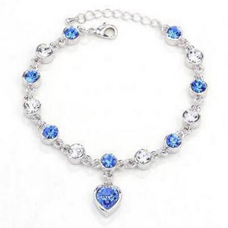1 pc Cristal Bracelet Femme Cherish Amour Populaire Bracelet Avec De Belles Femmes De Mariage Saint Valentin Bijoux Bracelet Cadeau