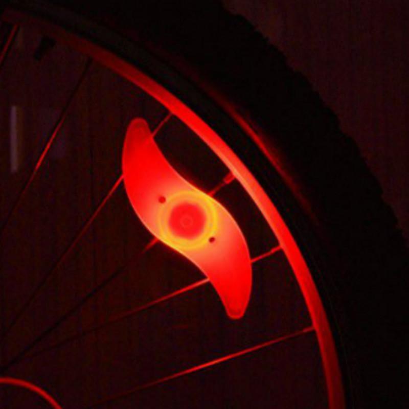 مع بطارية دراجة المتحدث الخفيفة الدراجة الجبلية أدى ضوء السلامة أضواء الدراجة عجلة ثلاثة وضع أضواء الدراجات اكسسوارات الدراجات
