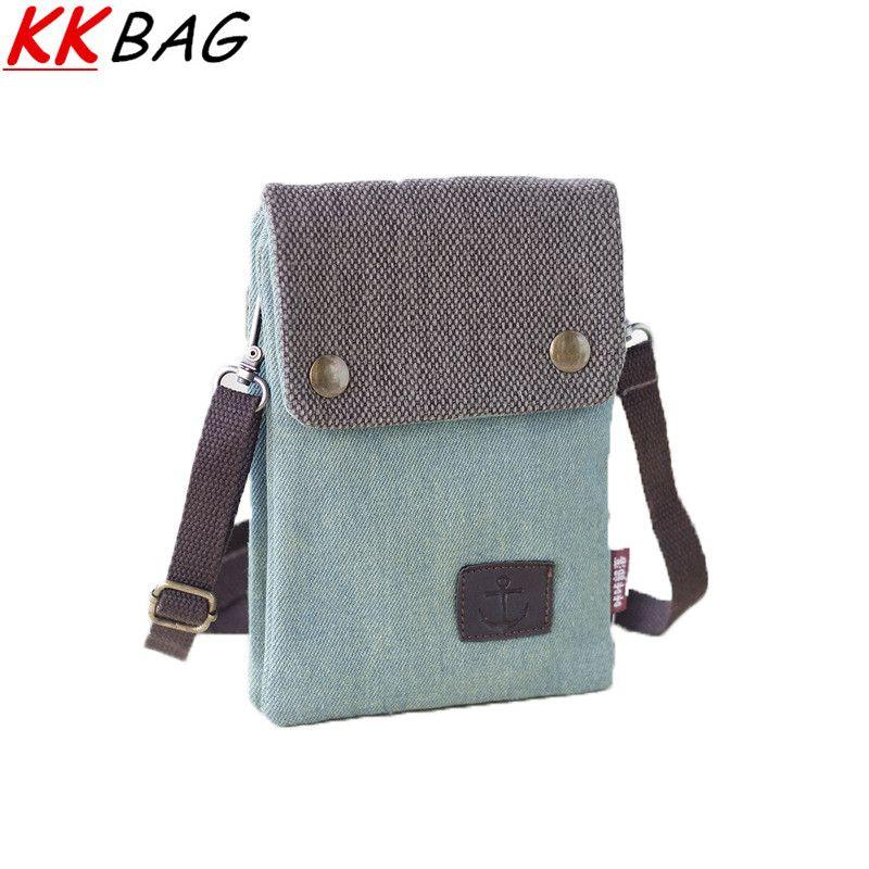 Каваи холст женские сумки телефон сумка мода сумки посыльного для мужчин женщин Crossbody симпатичные маленькая сумка женский клатч кошелек