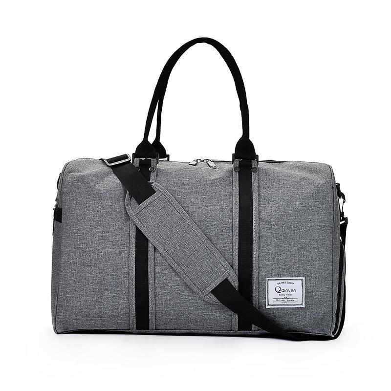 SAFEBET الأزياء حقيبة السفر لمسافات قصيرة حقيبة للجنسين حقيبة سفر حقائب واق من المطر الكبير حمل 3 ألوان CROSSBODY