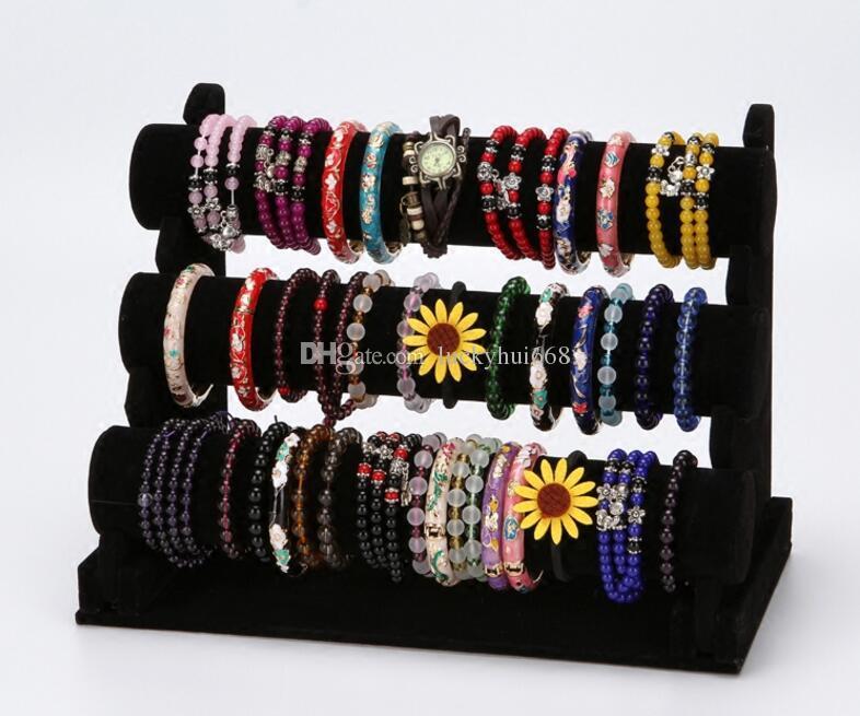 Free shipping jewelry display stand high quality Watch Bangle display holder Bracelet Organizer showcase rack