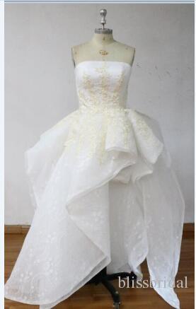 2017 zwei Stücke Chiffon Günstige Brautjungfernkleider V-ausschnitt Eine Linie Bodenlangen Formale Gast Kleid Trauzeugin Kleid Benutzerdefinierte Abendkleid