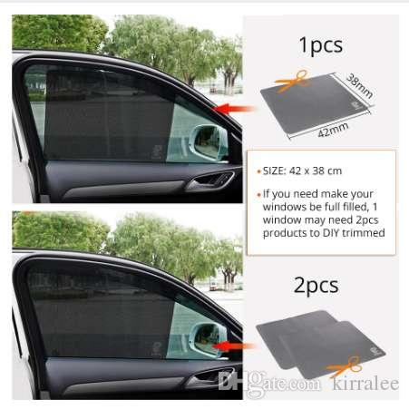Cars Set of 2 Protectors Car Window Sun shades Mesh Baby Boy Children Poster