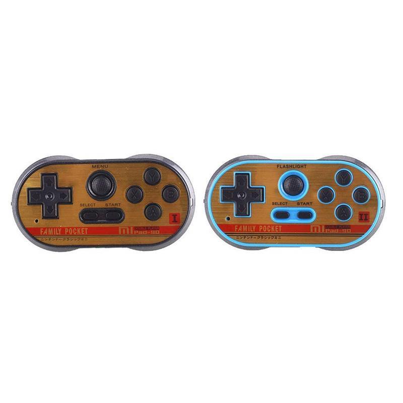 Neue Retro TV Video Spielkonsole Handheld Tragbare Spielkonsole N / P 260 Klassische Spiele Doppel Gamepad Joystick AV Ausgabe Familie Spiele Player