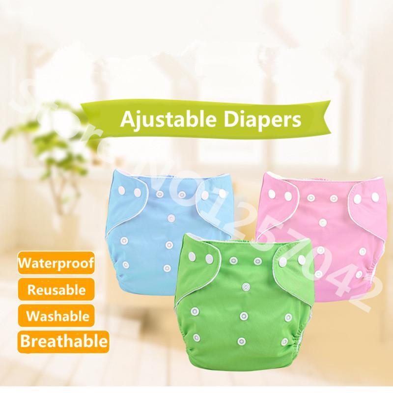 Couches de bébé couches lavables réutilisables couches en tissu couche imperméable à l'eau pour nouveau-né bébé couche de poche couverture hiver version d'été