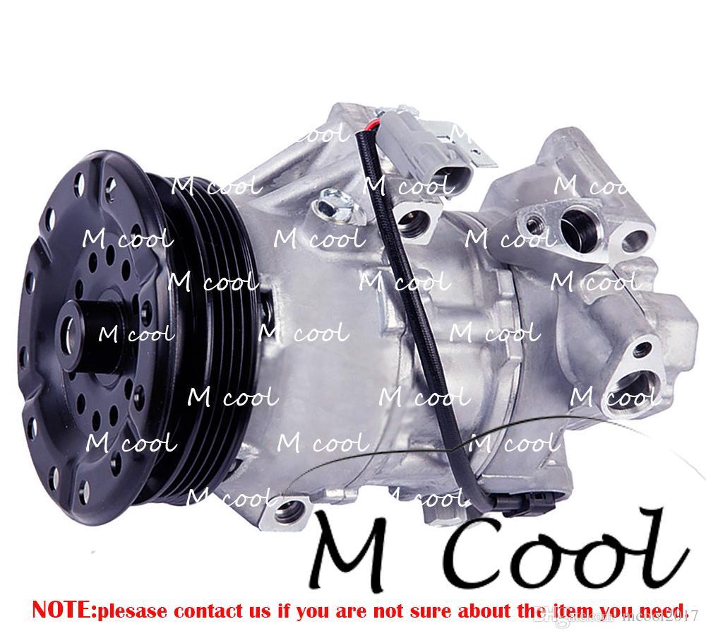 Araba Scion xA 1.5L Gaz İçin Otomobil AC Kompresörü 2005 447220-9738 4472209747 447260-2331 4471501080 4472209738 447260-1780