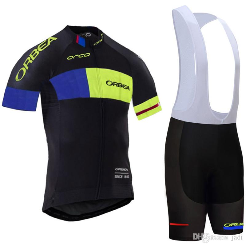 Jersey de ciclo del equipo Orbea 2020 hombres MTB verano de la ropa de secado rápido de manga corta de ropa deportiva que compite con la bicicleta al aire libre situada K121207