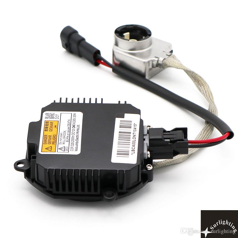 Black Color! OEM D2S/D2R Xenon HID Matsushita Gen 4 Ballast 28474-8992B (Xenon Light Control Unit) computer With Igniter