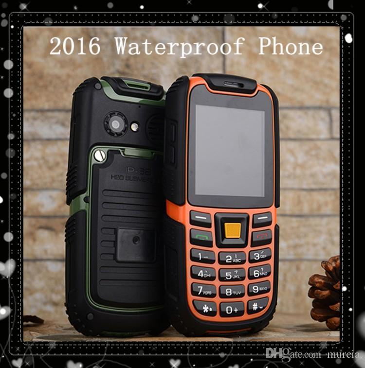 S6 IP67 Waterproof Phone 2500mAh Battery Long Standby Loud Sound Shockproof Phone Elder Phone