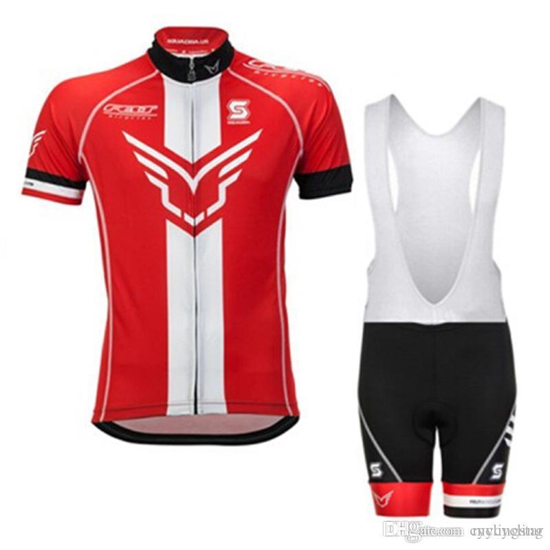 2017 Felt squadra Estate Ciclismo Maglie Ropa Ciclismo Traspirante Bici Abbigliamento Quick Dry Bicicletta Sportwear Bike Bib Pants GEL Pad D1301