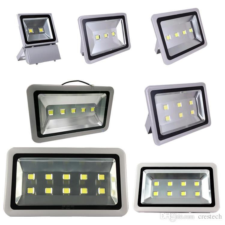 Floodlight led landscape lamp 100W 200W 250W 300W 400W 500W led outdoor flood light IP65 AC85-265V free shipping