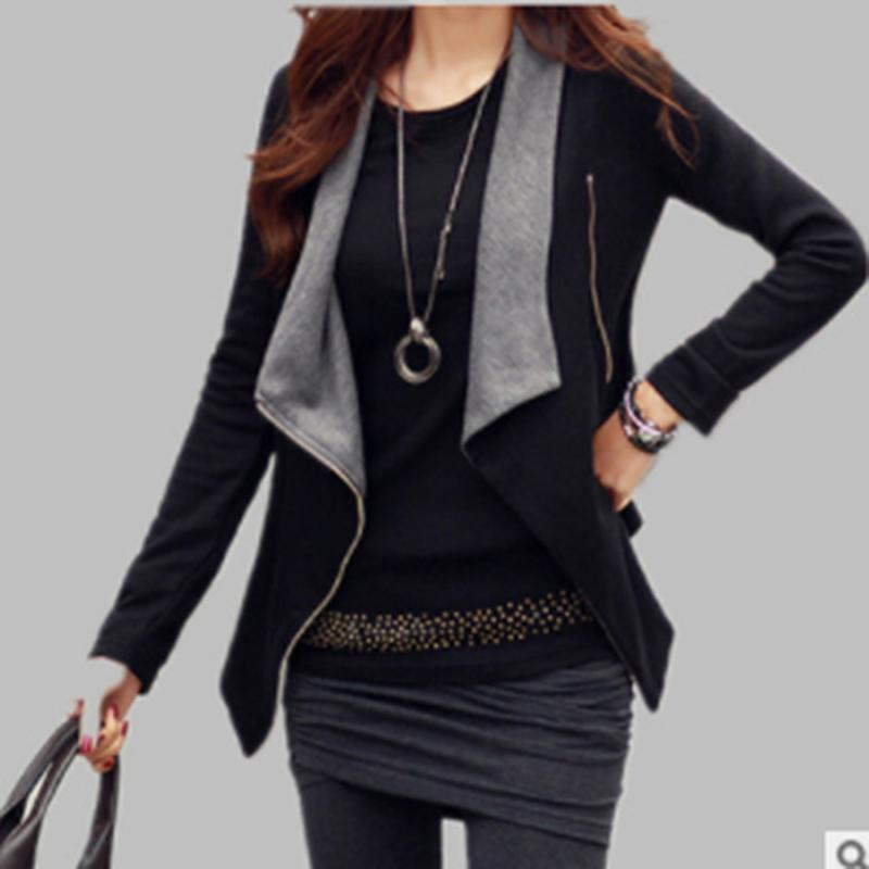 Sonbahar Kadın Temel Ceket Ceket Kadın Uzun Kollu Hırka Giyim Panço Takım Pelerin Bolero Giyim Pelerin Manteau Femme