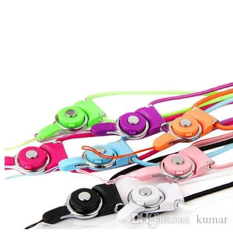 Hot Sale Mobile Phone Straps Detachable Neck Strap Lanyard For Cell Phone Mp3 Mp4 ID Card support for Dropshipping