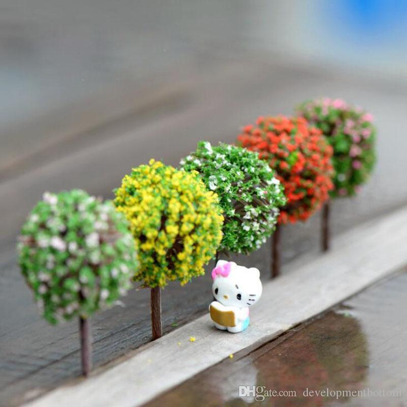 jardin miniatura Compre Mini Decoraciones De Jardn Rbol De Resina Jardn De Hadas Miniaturas Rboles Decoracin De Jardn Terrario Estatuillas Miniatura Envo Gratis