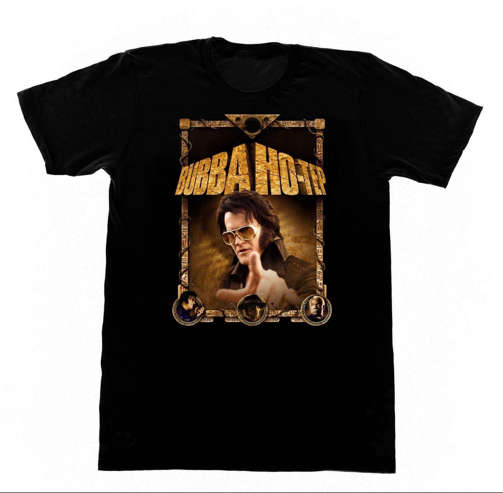 Bubba Ho - Tep Camiseta 91 T-shirt Hotep Bruce Campbell Exército Mal Morto Da Escuridão Mangas Curtas Nova Moda T-shirt Dos Homens de Roupas