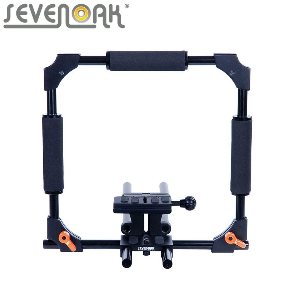 wholesale SK-C01 15mm Rod PRO Camera Cage SteadyCam System for Canon 5D 5D Mark II Nikon DSLR Cameras Camcorders