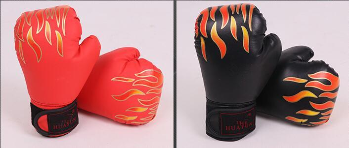 Huayun 2019 novo tipo de luvas de boxe Adulto Sanda manga de fitness de boxe PU de couro das crianças luvas de boxe