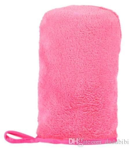 NEW ARRIVAL Microfiber MakeUp Removal Facial Cloth Gloves Towel Beauty Skin face Washcloth New FREE SHIPPING