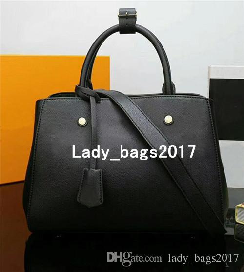 Классического отверстие MONTAIGNE сумки Женщина кожи плечо сумка кошелек цветочного принт сумка Crossbody большого покупатель Посланник сумка