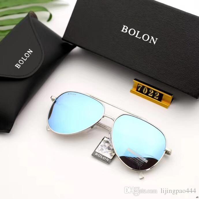 Classic Men's Sunglasses Fashion Top Polarized Oculos Case Glass High 7022 HD Brand Quality Sun Glasses Women For Lenses Men De Sol Mal Pwfq