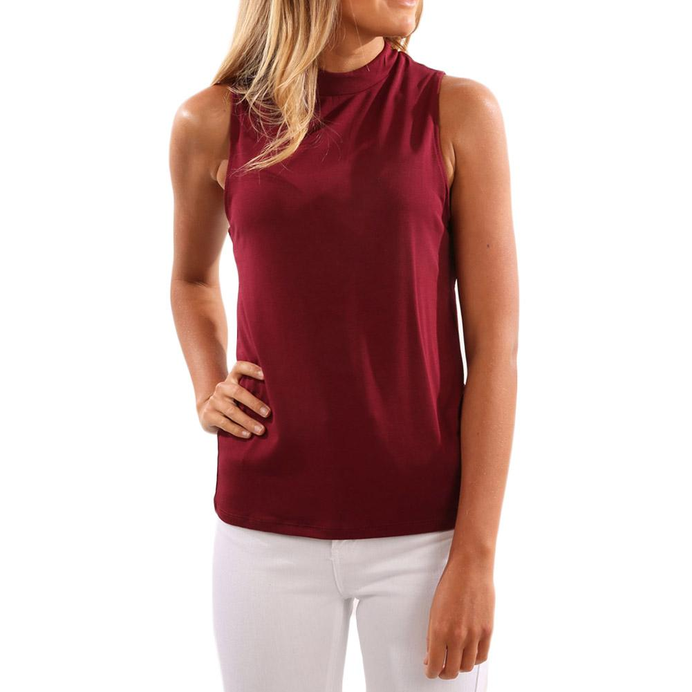 2018 Top Selling Fashion Women Vest Summer Sexy Deep V Back Backless Tank Tops Sleeveless Lady Shirts Clothing