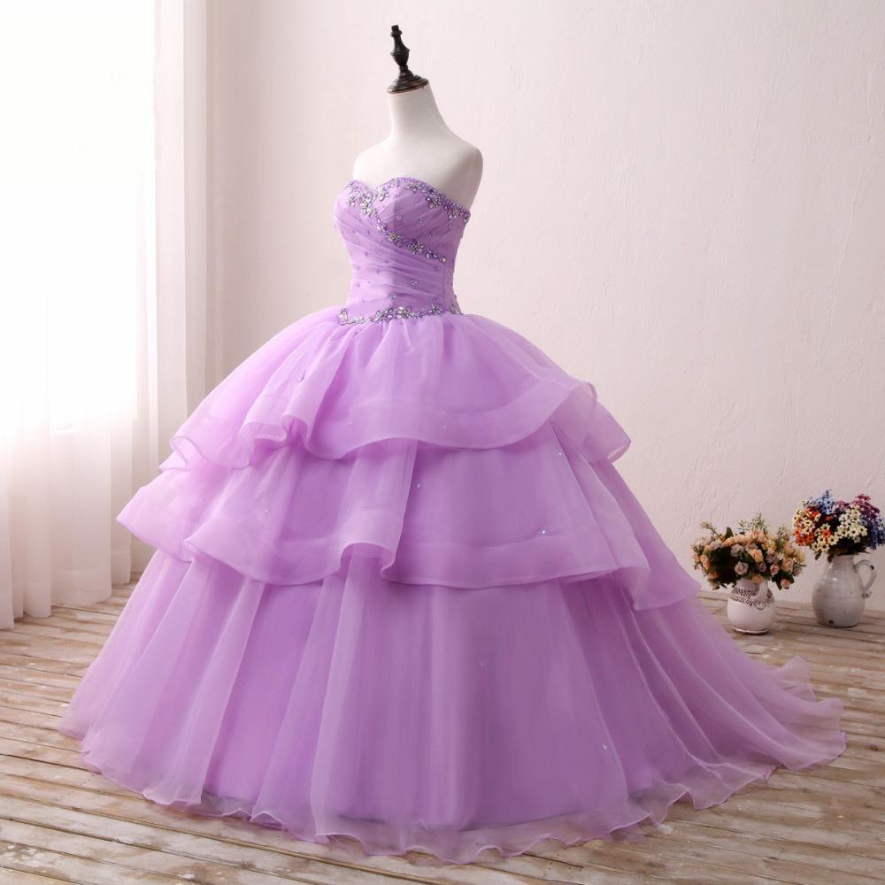 Elegantes vestidos Quinceanera Oranga Beading Sweetheat vestido de baile da menina da moda nupcial ocasião especial Prom vestido de festa de aniversário 17prom10