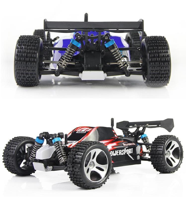 New Car Design Wltoys A959 carro de controle remoto 2 .4ghz 4WD Com 40 -60km / Hora alta velocidade Rc carro elétrico Toy presente para o menino