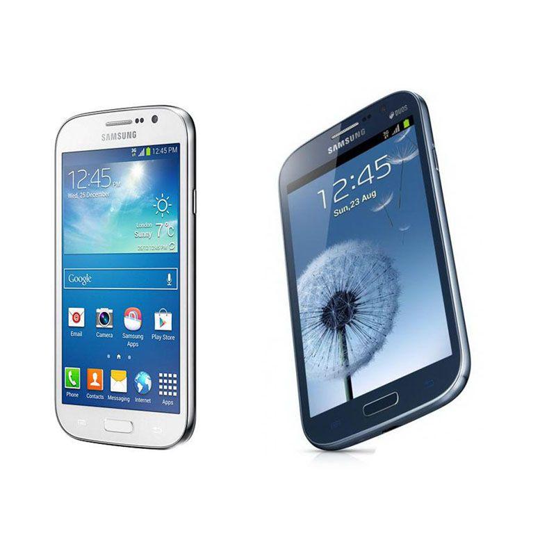 Entriegelte Refurbished Samsung GALAXY Grand-DUO I9082 WCDMA 3G WIFI GPS Doppel-Micro-SIM-Karte 5Inch 1GB / 8GB Andorid Smartphones