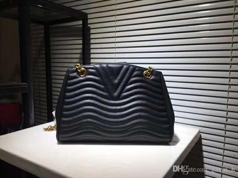 Bolsa de explosión mejor vendida Moda Marca de mano Bolso de cuero Hombro Mujer Diseñador Forma de Costura Bordado Cuero Cuero Lujo Arghh