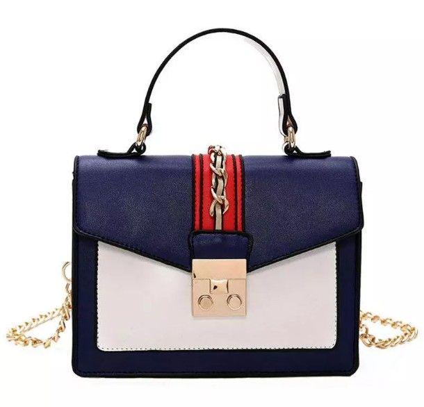 Bolsas de luxo Mulheres Sacos Designer de Moda Feminina Hit Cor Marcas Famosas Nova Bolsa Na Moda Sacos De Tote Selvagem Sacos de Ombro Messenger Bag