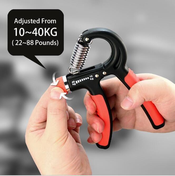 10-40 kg TPR Elastische Kunststoff R-Form Handgriff Grip für Handgelenk Unterarm Stärke Umfassende Power Fitness Trainingsgeräte Handgriff