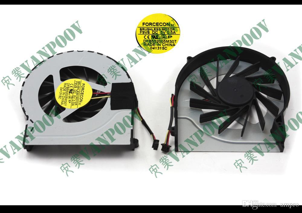 Ventilador de enfriamiento del portátil (enfriador) Disipador de calor W / O para H P Pavilion dv6 dv7 dv6-3000 dv7-4000 Series