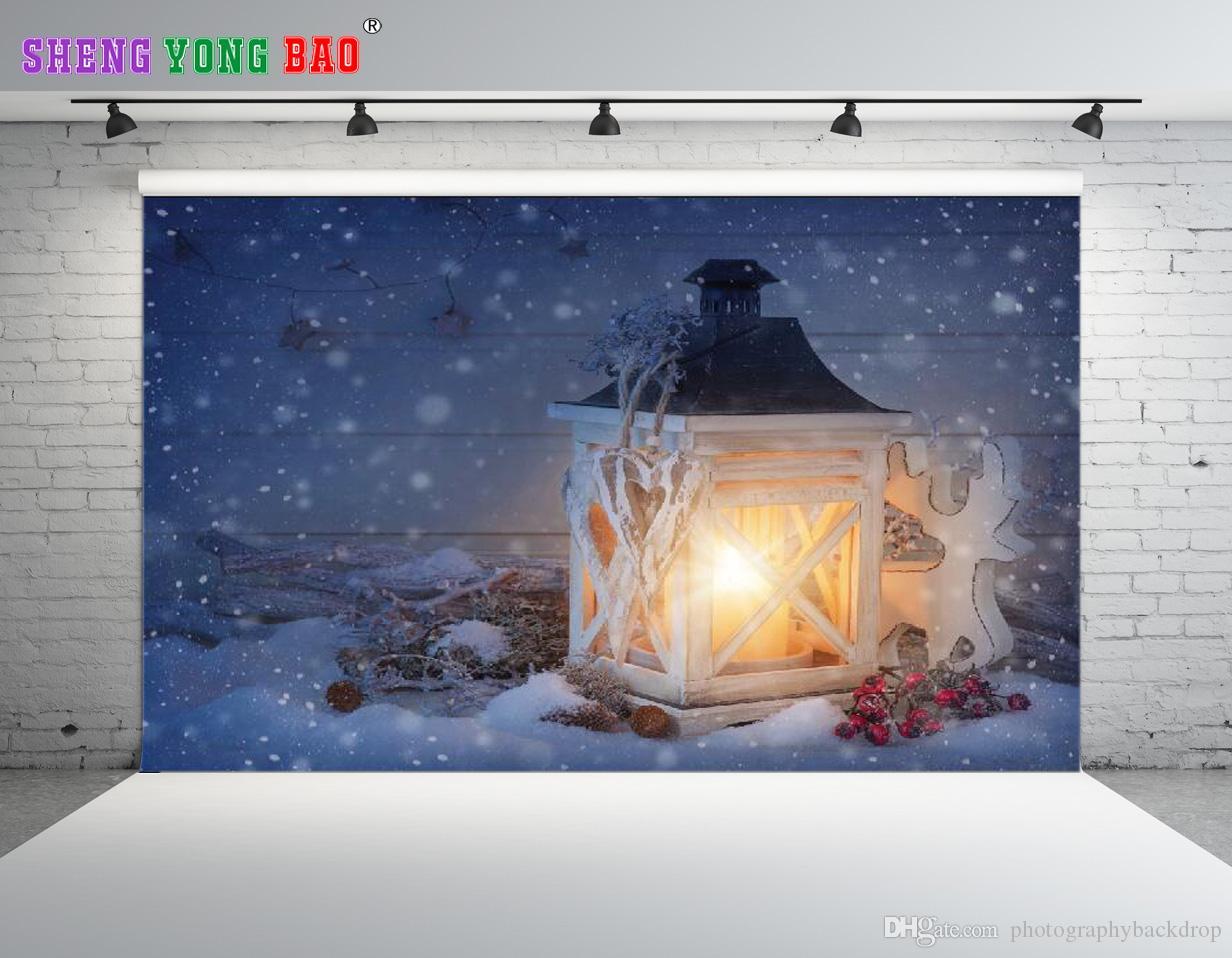 Shengongbao винил пользовательские Рождественские темы виниловые фотографии фонов проп пользовательские фотографии фон NTZP-221