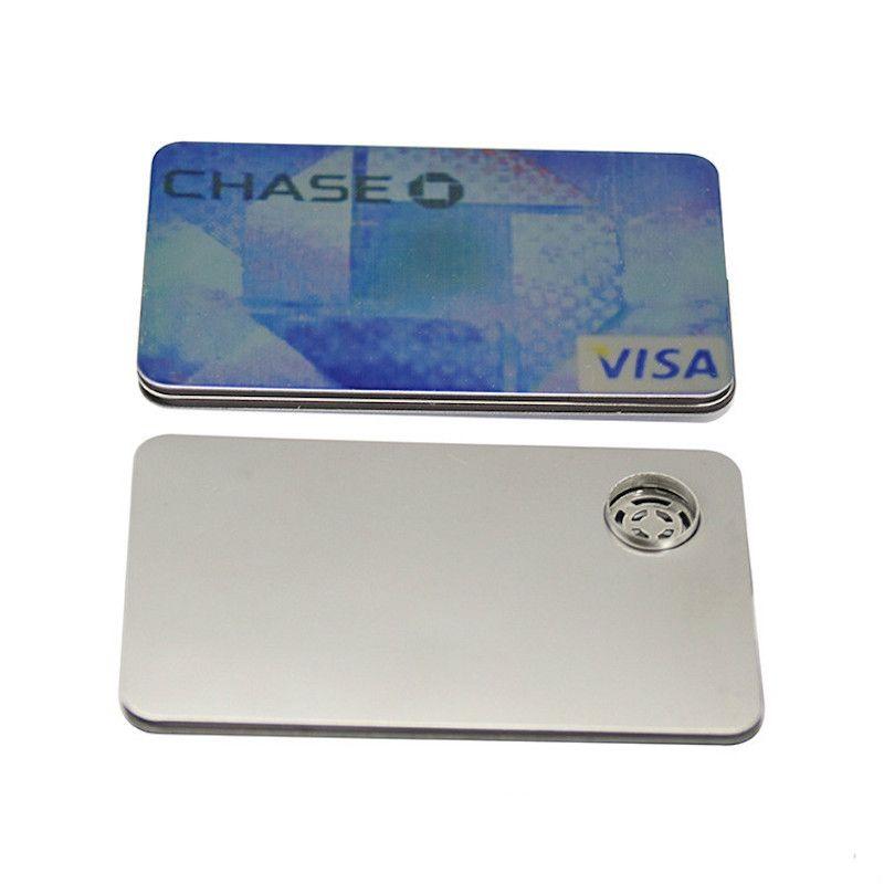 Kreditkarte Hand Rohr Spezialität Kraut Pocket Portable Pfeife Handpfeife Rauchen Zubehör Kostenloser Versand