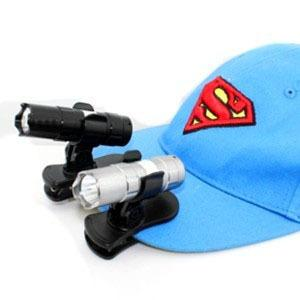 Clip cap lamp, mini LED flashlight, lamp holder, strong headlight.