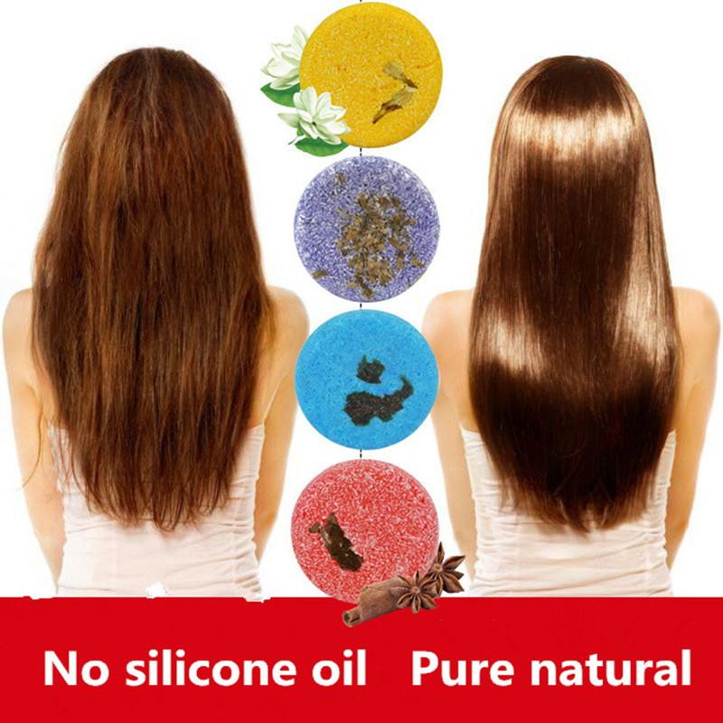 Hot Handmade Hair Shampoo Magic Soap Pure Natural Dry Shampoo Soap Oil-control Anti-Dandruff Off Hair Care