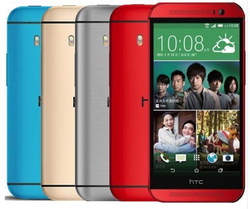 "Original HTC One M8 Mobile Phone Quad Core 5"" 3 Cameras 2G RAM 16G/32G ROM Refurbished WCDMA Refurbished phone"