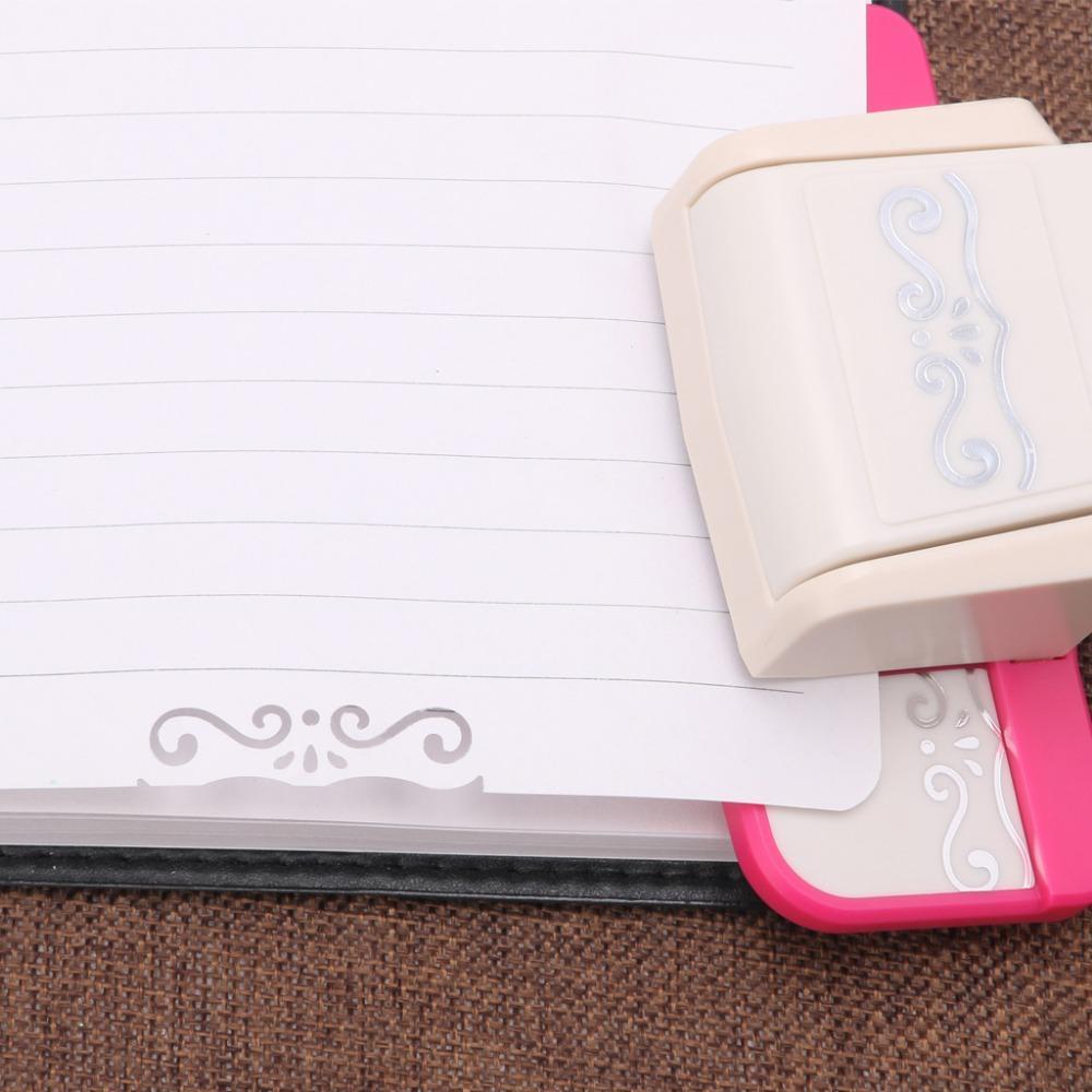 1 PC extravagante borda soco S projeto da flor Embossing scrapbooking handmade borda dispositivo DIY cortador de papel artesanal