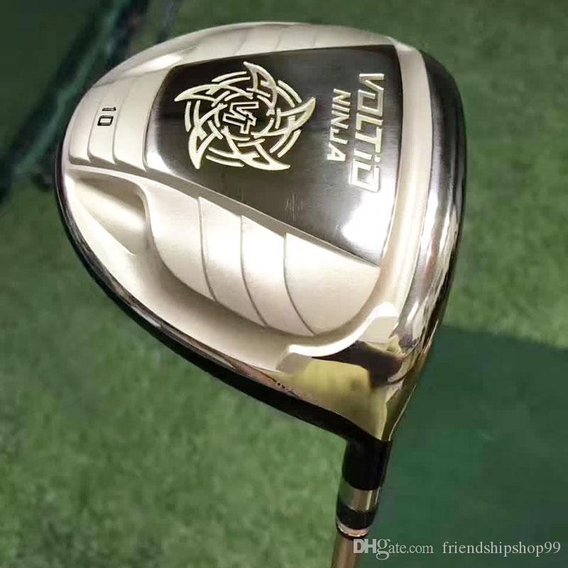 نوادي الجولف الجديدة KATANA NINJA Golf driver 9/10 دور علوي نوادي الجرافيت رمح الجولف R أو S flex شحن مجاني