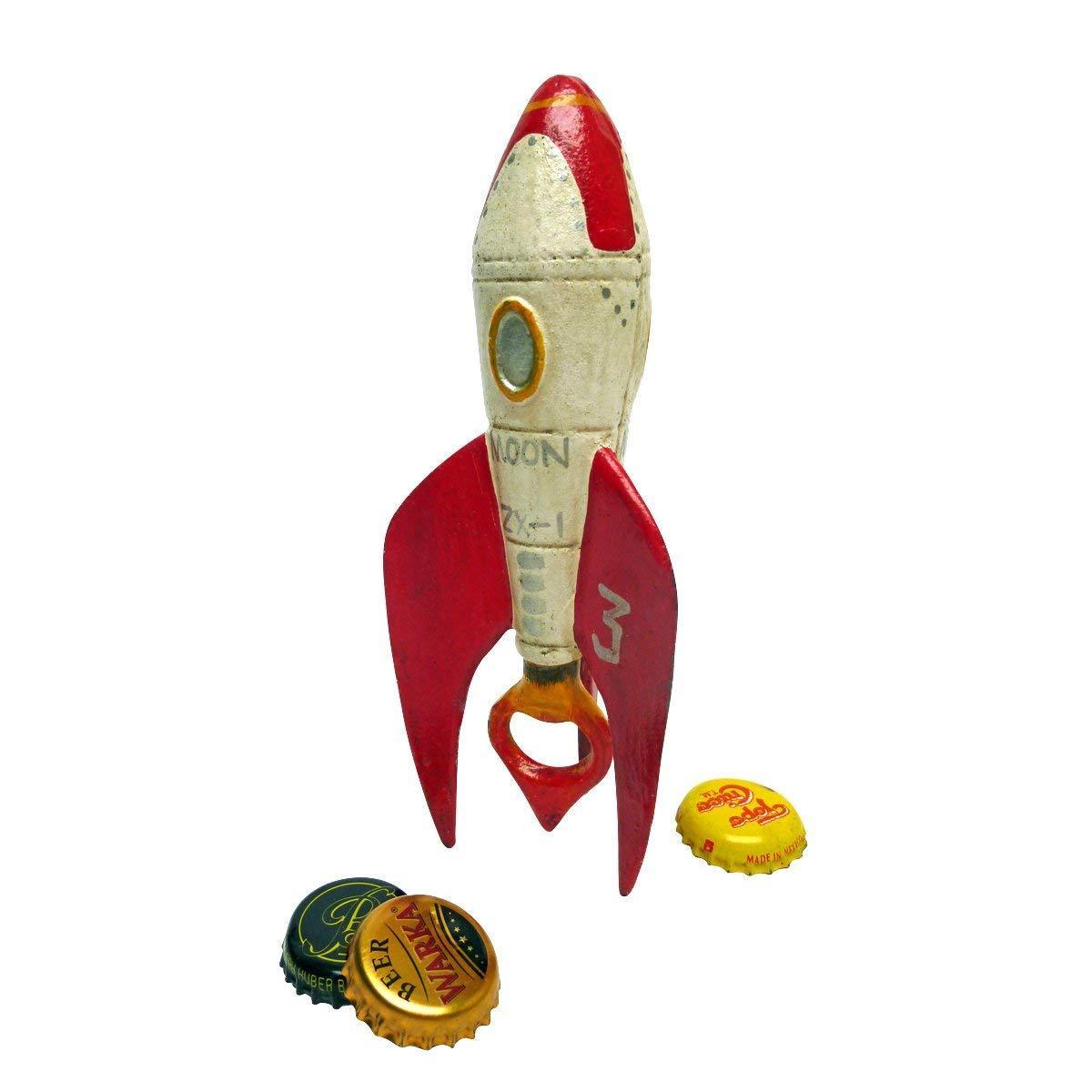 Décapsuleur en fonte Retro Rocket Ship