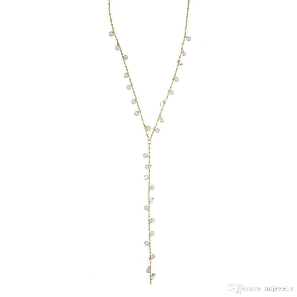 70 + 5 CM Bohême À La Mode Femmes Bijoux Déclaration Collier Collier Exquis Pendentif Colliers Chandail Accessoires Cadeaux Goutte 20 cm