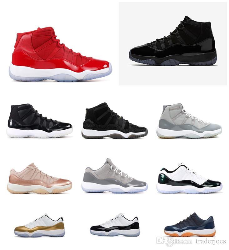 Box 2018 ile Erkek ve Bayan Basketbol Ayakkabı Sneakers Paskalya Balo Gecesi Space Jam Erkekler Spor Ayakkabılar Gri Soğuk US5.5-13