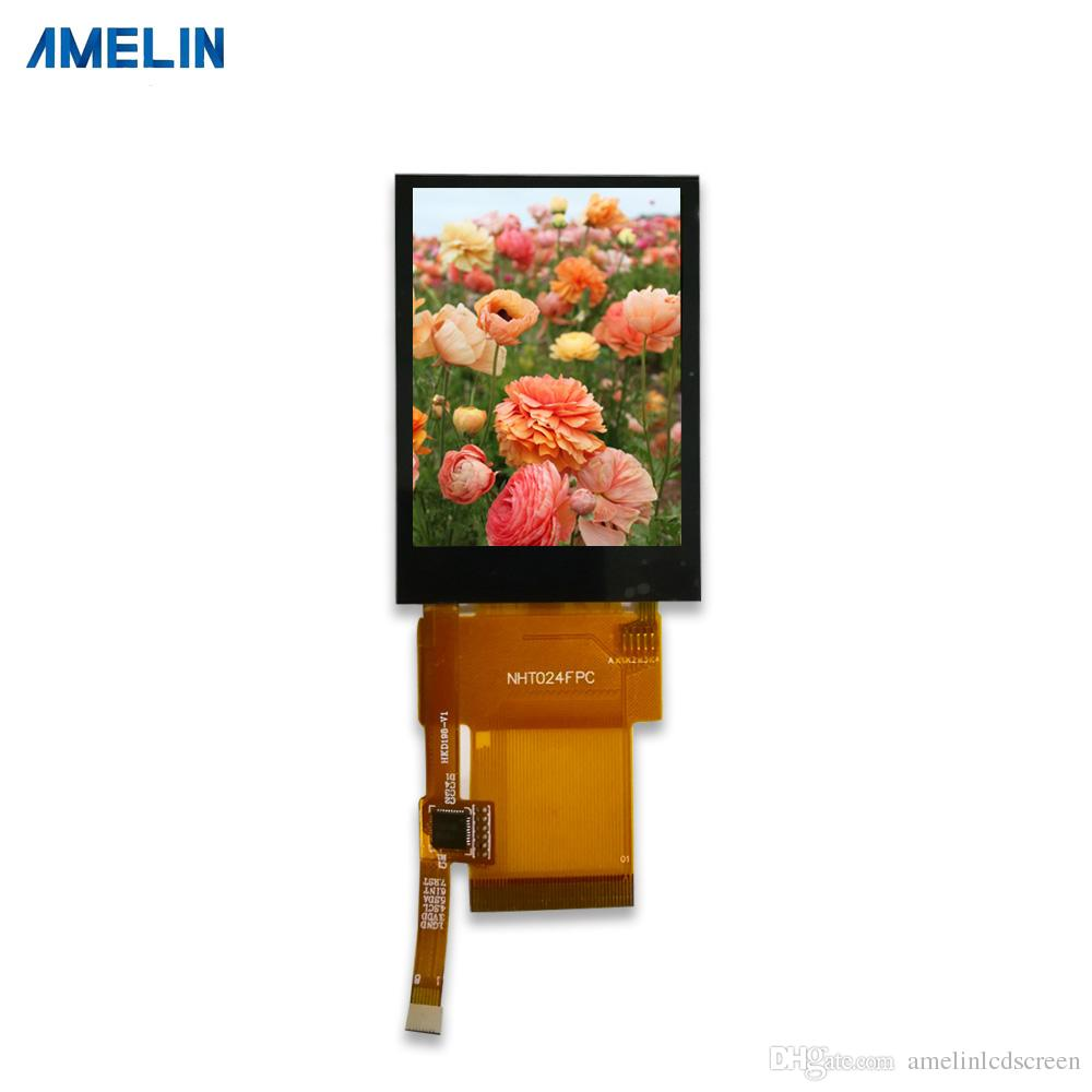 Touch panel 2.4 inch 240*320 tft lcd module display with MCU interface and IPS Viewing Angle screen