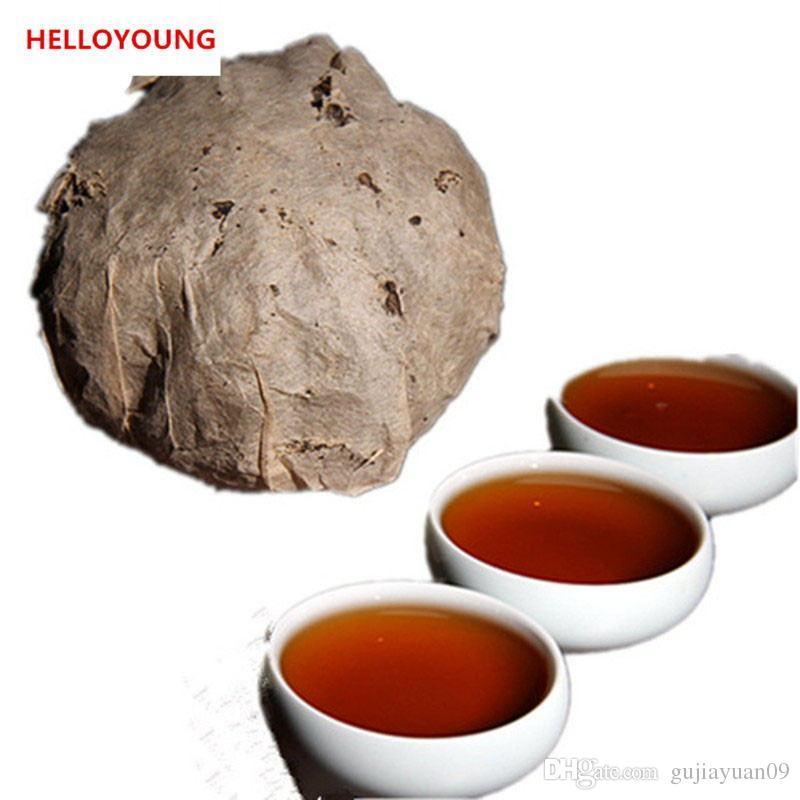 Sıcak Satış 100g Olgun Puer Çay Yunnan Klasik Parfüm Puer Çay Kek Organik Doğal Pu'er Eski Ağacı Puer Çay Siyah Puerh Pişmiş