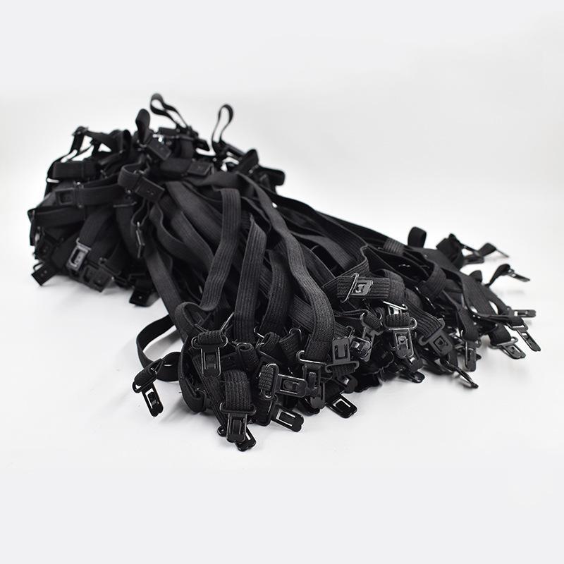 20 UNIDS Marca 2018 DIY Pajarita Accesorios Para Hombres Mujeres Corbata Ajuste de La Boda Cuerda Nueva Longitud Máxima 45 cm 50 cm Banda Elástica