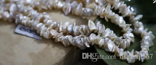 Collana a forma di perla irregolare barocco naturale bjhgh