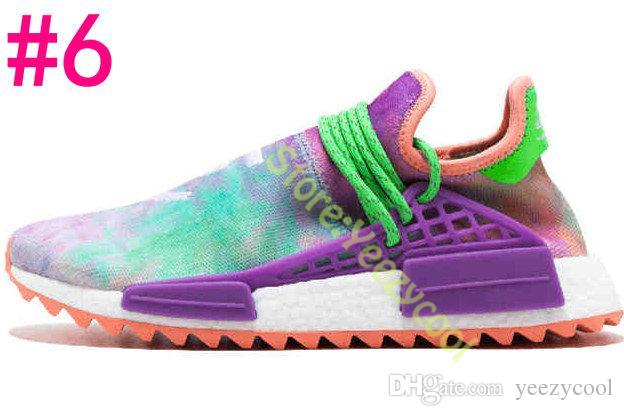 Großhandel Holi Holi Sun Glow Pale Nude NERD Billionaire Jungen Männer Frauen Pharrell Williams X Laufschuhe Menschliche Rennen Sport Sneakers Von