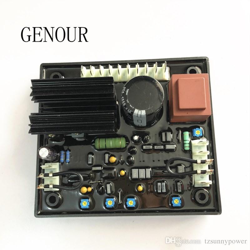 Regolatore di tensione automatico Genour R438 per Leroy Somer generador AVR R438 ricambi alternatore brushless di alta qualità