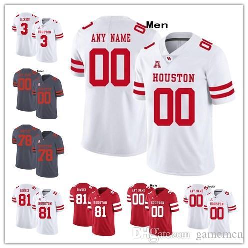 Case Keenum Houston Cougars Football Jersey - White