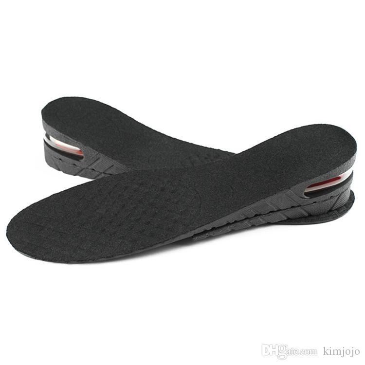 Men Women Shoe Insole Air Cushion Heel insert Increase Tall Height Lift 4.5cm